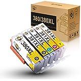 BCI-381+BCI-380 XL キヤノン互換インクカートリッジ 增量5色セット 対応プリンター: PIXUS TS8330, PIXUS TS8230, PIXUS TS8130, PIXUS TS7330, PIXUS TS6330, PIXUS TS6230, PIXUS TS6130, TR9530, PIXUS TR8530, PIXUS TR7530, TR703