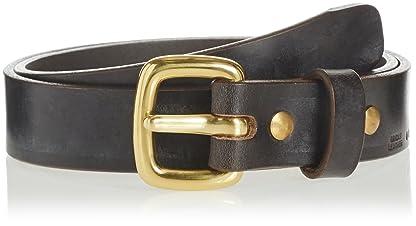 Arts & Crafts Bridle Leather Belt 11-52-0083-131: Dark Brown