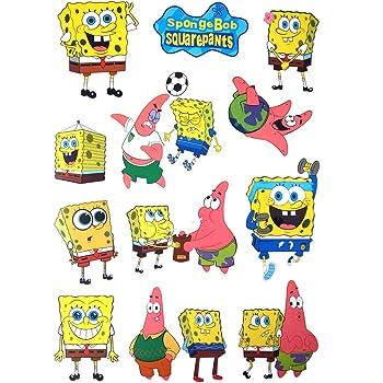 SpongeBob SquarePants ( スポンジボブ ) 12枚ステッカーセット 防水 シール [並行輸入品]