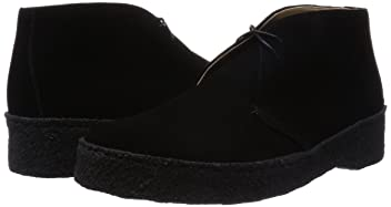 Suede Mudguard Chukka 3231-699-1238: Black