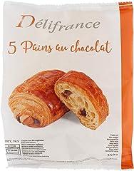 Delifrance Chocolate Croissant Frozen, 70g (Pack of 5) - Frozen