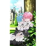 Re:ゼロから始める異世界生活 iPhoneSE/5s/5c/5(640×1136)壁紙 レム&ラム