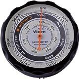 ビクセン 高度計 アナログ 気圧計 付き ブラック 46811