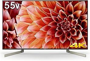 ソニー SONY 55V型 液晶 テレビ ブラビア KJ-55X9000F 4K Android TV機能搭載 Works with Alexa対応 2018 KJ-55X9000F