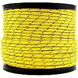 Soomloom テント用ロープ パラコード 反射材付き 張り綱 全長50m ロープ直径2㎜/3㎜/4㎜/5㎜/6㎜
