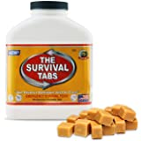 Survival Food for Kayaking Survival Tabs 15-day Food Supply 180 Tabs Emergency Food Ration MREs Food Replacement Gluten Free