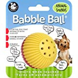 Pet Qwerks Animal Sound Babble Ball Interactive Dog Toy for Small Dogs