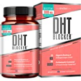 DHT Blocker for Women Hair Growth with Saw Palmetto Biotin Keratin Collagen for Hair Skin and Nails Vitamins for Women Hair R