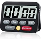 Digital Kitchen Countdown Timer, Loud Alarm,Mute Optional,with Magnet Stand,Electronic Time Tool for Kitchen,Classroom,Meetin