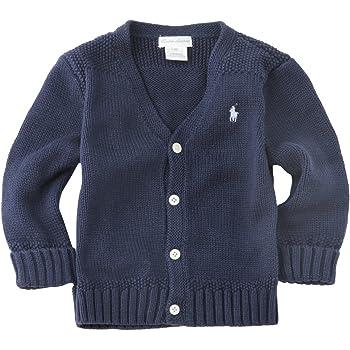 d487915d3ac8c ラルフローレン キッズ ベビー Vネックカーディガン 男の子 ベビー服 出産祝い Polo Ralph Lauren (サイズ