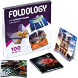Foldology(フォールドロジー) 折り紙 パズルゲーム | 実践的な脳の体操 子供 ティーン 大人用 | 100チャレンジ