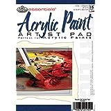 """Essentials(TM) Acrylic Artist Paper Pad 5""""X7"""", 15 Sheets"""