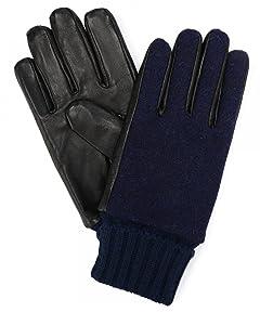 Infielder Design Sheep Leather Harris Tweed Glove 1437-599-1020: 1