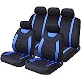 Sakura SS5292 Full Seat Covers Set, Carnaby Blue