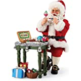 Department 56 Possible Dreams Santas Christmas Traditions Painter's Masterpiece Figurine Set, 10 Inch, Multicolor