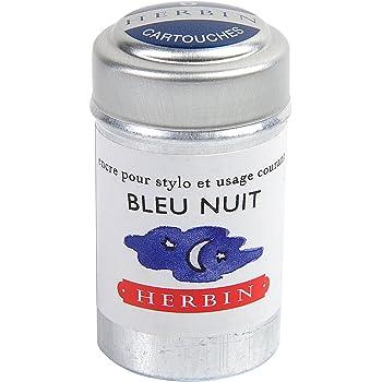 エルバン 万年筆用 カートリッジインク 6本入り ナイトブルー hb20119