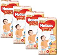 Huggies Gold Extra Large Pants, Carton, 38ct (Pack of 4)