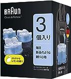 【99.9%除菌】ブラウン アルコール洗浄液 (3個入) メンズシェーバー用 CCR3 CR[正規品]