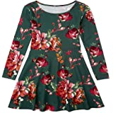 The Children's Place Girls' Big Printed Pleated Dress