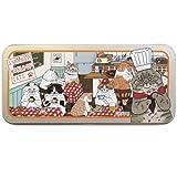シナダグローバル 世にも不思議な猫世界 缶ペンケース2 洋食春男 YNCP-0075Y