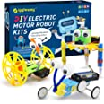Giggleway Electric Motor Robotic Science Kits, DIY STEM Toys for Kids, Building Science Experiment Kits for Boys and Girls-Do