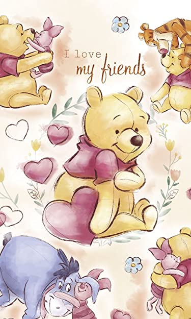 ディズニー  iPhone/Androidスマホ壁紙(480×800)-1 - くまのプーさん マイ・フレンズ