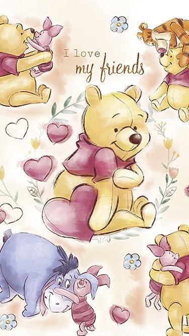 ディズニー  iPhone/Androidスマホ壁紙(540×960)-1 - くまのプーさん マイ・フレンズ