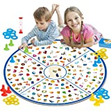 REMOKING Board Game,Educational Detective Card Game,Kids Memory Game Tabletop Game,STEM Matching Game Toys for Kids Boys Girl