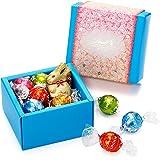 リンツ (Lindt) チョコレート ホワイトデー リンドールクラシックギフトボックス 12個入り ショッピングバッグS付