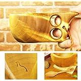 北欧フィンランド木製 本物ククサ Kuksa Wood Jewel(ウッドジュエル)160cc 白樺のコブ使用 説明書 箱包装 木製ヴィンテージスプーン付き
