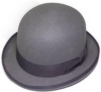 ボーラー FUJIコラボレーション フェルトボーラーハット ダービーハット 山高帽 グレー系