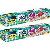 【Amazon.co.jp 限定】【まとめ買い】リード冷凍も冷蔵も新鮮保存バッグ L×2個