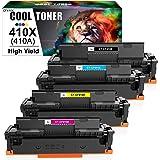 Cool Toner Compatible Toner Cartridge for HP 410X CF410X CF411X CF412X CF413X 410A CF410A M477FDW for HP Laserjet Pro MFP M47
