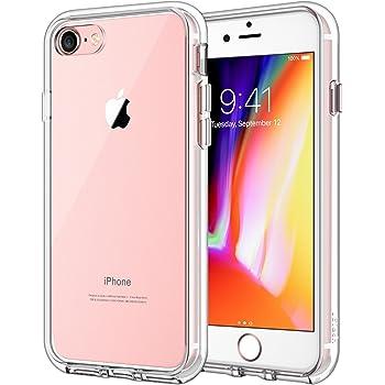 e45c230c6d JEDirect iPhone7 iPhone8 ケース バンパー 衝撃吸収 傷つけ防止 (クリア)