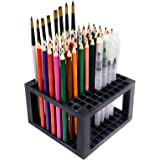 YOUSHARES 96 slots Pencil Holder - Desk Stationary Standing Organizer Holder, Perfect for Pen/Pencil, Paint Brush, Gel Pen, a