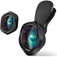 スマホ用カメラレンズ クリップ式レンズ 広角レンズ マクロレンズ 自撮りレンズ - iPhone Android タブレ…