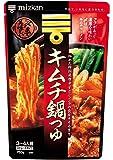 ミツカン 〆まで美味しいキムチ鍋つゆ ストレート 750g×4個