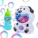Bubble Buddies Kids Bubble Machine, Automatic Bubble Maker, Puppy