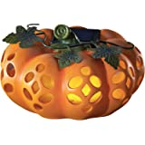 Outdoor Decorations Fall Festive Pumpkin, Solar Powered Outdoor Light, Halloween and Thanksgiving, Garden, Patio, Pathway, Po