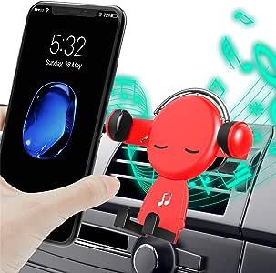 車載ホルダー Smartmago スマホホルダー 伸縮アーム クリップ式&吹き出し口 360度回転可能 多機種対応