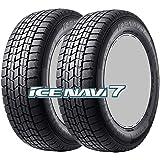 2本セット 14インチ スタッドレスタイヤ GOODYEAR(グッドイヤー) ICE NAVI 7(アイスナビ セブン) 155/65R14 75Q
