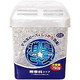 アクアリフレ 消臭剤(室内用・トイレ用・ペット用)ビーズ 本体 無香料 大容量 760g
