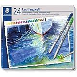 ステッドラー 色鉛筆 カラトアクェレル 水彩色鉛筆 24色 125 M24