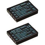 NinoLite DB-L50 互換 バッテリー 2個セット サンヨー 等対応 dbl50x2_t.k.gai