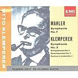 Mahler: Symphony No.7 / Klemperer: Symphony No.2, String Quartet No.7