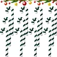 Sumind 12 Pieces Inflatable Christmas Candy Cane Christmas Candy Canes Stick Balloons for Party Decorations Outdoor for Boys