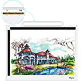 Portable A4 LED Light Box Wireless Artcraft Tracing Light Pad Battery or USB Cable Powered 5600 Lux LED Light Table,Gryiyi Tr