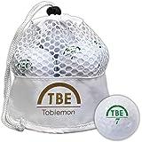 TOBIEMON(トビエモン) ゴルフボール 公認球 2ピース 1ダース(12球入) メッシュバック入