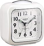 CASIO(カシオ) 目覚まし時計 ホワイト 7.6×7.3cm アナログ ミニサイズ ライト 付き TQ-157-7B…