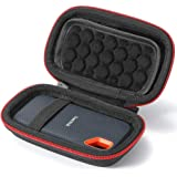 Hard Case for SanDisk 250GB / 500GB / 1TB / 2TB Extreme Portable SSD SDSSDE60, Carrying Storage Bag - not fit for SanDisk Ext
